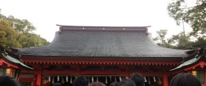 住吉神社での初詣